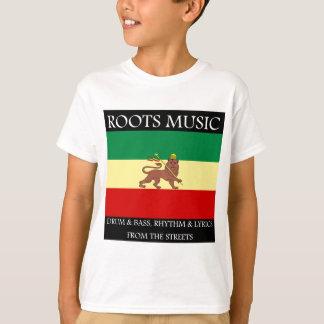 Rasta - Roots Music Ethiopia Flag Lion of Judah T-Shirt