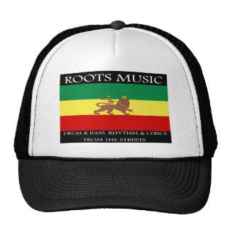 Rasta - Roots Music Ethiopia Flag Lion of Judah Trucker Hat