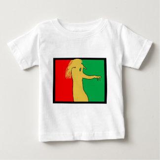 Rasta Singer Silhouette Baby T-Shirt
