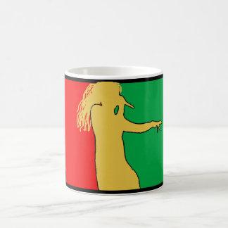 Rasta Singer Silhouette Coffee Mug