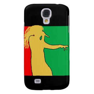 Rasta Singer Silhouette Galaxy S4 Cover