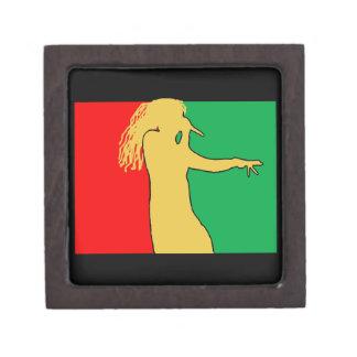 Rasta Singer Silhouette Gift Box