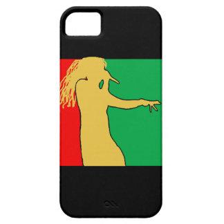Rasta Singer Silhouette iPhone SE/5/5s Case