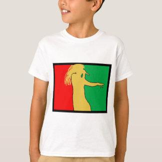 Rasta Singer Silhouette T-Shirt