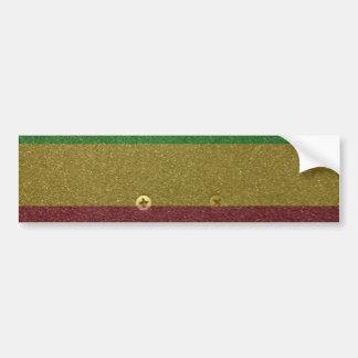 Rasta Skateboard Griptape Bumper Sticker