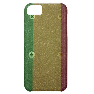 Rasta Skateboard Griptape Cover For iPhone 5C