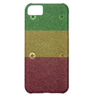 Rasta Skateboard Griptape iPhone 5C Cover