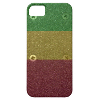 Rasta Skateboard Griptape iPhone SE/5/5s Case