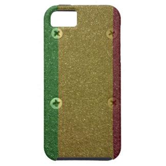 Rasta Skateboard Griptape iPhone SE/5/5s Case
