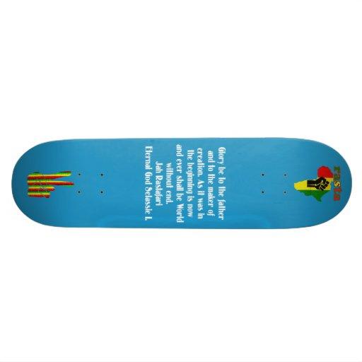 Rasta Skateboard Skateboard