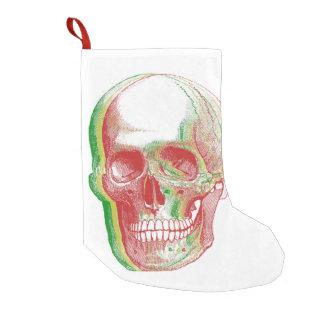 Rasta Skull Small Christmas Stocking
