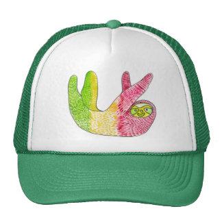Rasta Sloth Snapback By Megaflora Trucker Hat