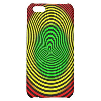 rasta-spiral-hi iPhone 5C case