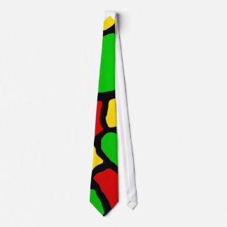 Rasta Spots Neck Tie