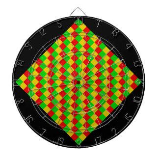 Rasta Squares Dartboard