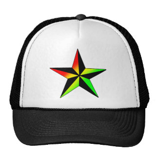 Rasta Star Trucker Hat