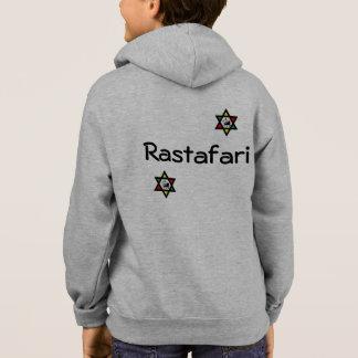 Rasta star zipper hoodie