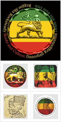 RASTA STICKERS