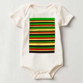 Rasta Stripes Bodysuit