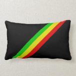 Rasta Stripes Pillow