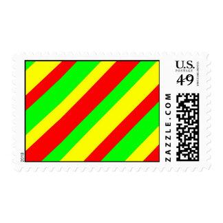 Rasta Stripes Postage