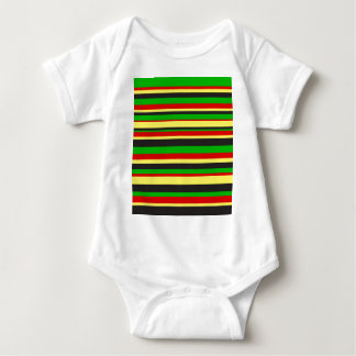 Rasta Stripes T Shirt