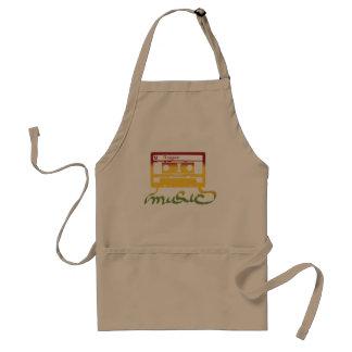 rasta tape reggae adult apron