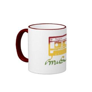 rasta tape reggae mug
