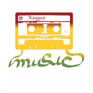rasta tape reggae shirt