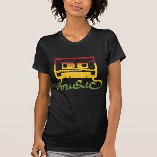 rasta tape reggae t-shirt