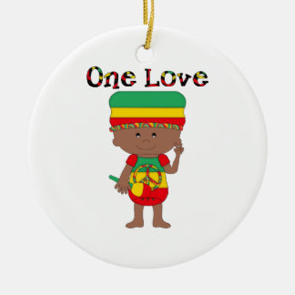 Rasta Themed Gifts and Tees for Kids, Adults Ornament