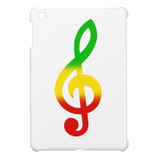 Rasta Treble Clef iPad Mini Cover