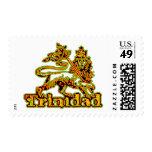 Rasta Trinidad Stamp