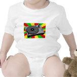 Rasta Turntable Baby Bodysuits