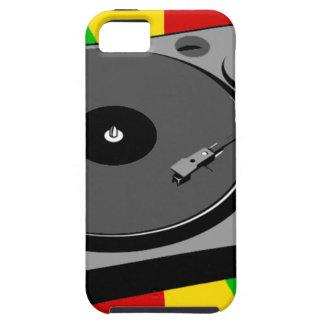 Rasta Turntable iPhone 5 Case