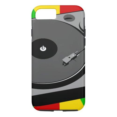 Rasta Turntable Phone Case