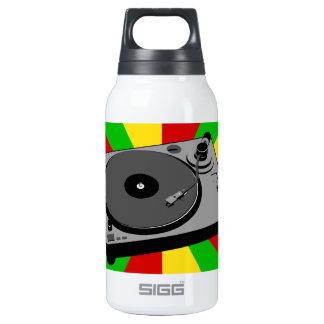 Rasta Turntable Insulated Water Bottle