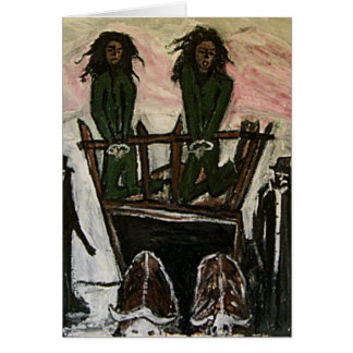 RASTA WITCH TRIALS CARD