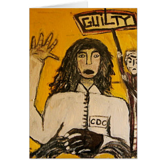 RASTA WITCH TRIALS GUILTY CARD