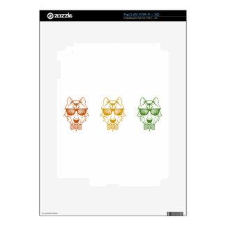 Rasta Wolf Skin For iPad 2