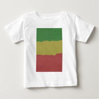 Rasta Wood Grain Baby T-Shirt