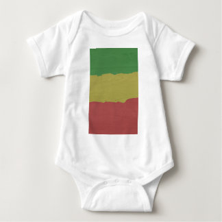 Rasta Wood Grain Infant Creeper