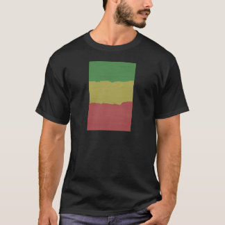 Rasta Wood Grain T-Shirt