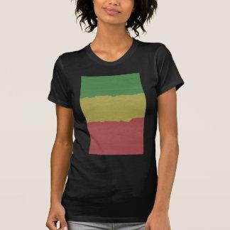 Rasta Wood Grain Tee Shirt