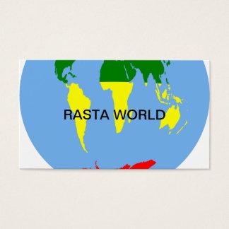 RASTA WORLD BUSINESS CARD