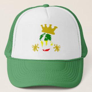 RASTA WORLD JAH TRUCKER HAT