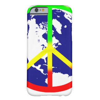 Rasta World Peace Barely There iPhone 6 Case