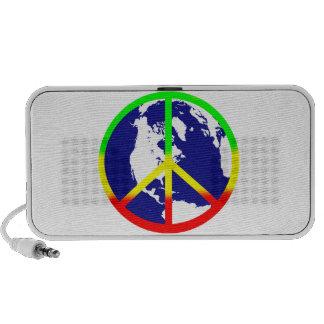 Rasta World Peace Mini Speakers