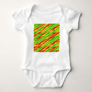 Rasta Zebra Stripes Shirt