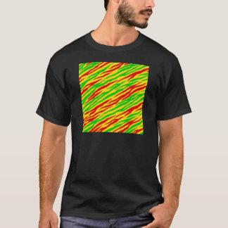 Rasta Zebra Stripes T-Shirt